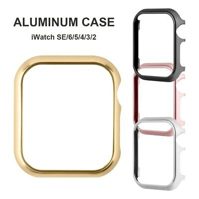 Aluminum For Apple Watch iWatch 38/42mm Protective Screen Face Bumper Case Cover