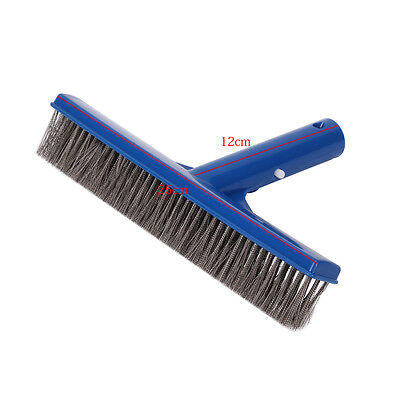 10inch Stainless Steel Bristles Brush for Swimming Pool Spa Algae Cleaning