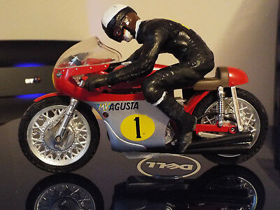 Motorcycle Mv Agusta Race 1/12 With Figure
