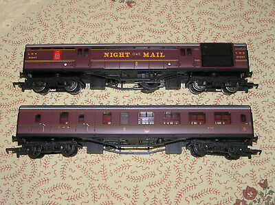 hornby HO night mail coaches