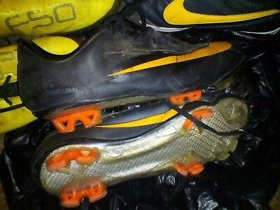 NIKE Mercurial Vapor Soccer Boots USED Size US7.5