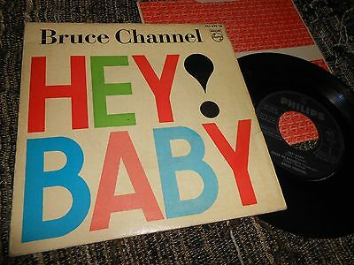 "BRUCE CHANNEL Hey baby! +3 EP 45 7"" 1962 SPAIN SPANISH"