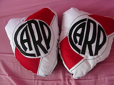2 x River Plate Cushions Argentina Football Kids Bedroom Decoration Collectors