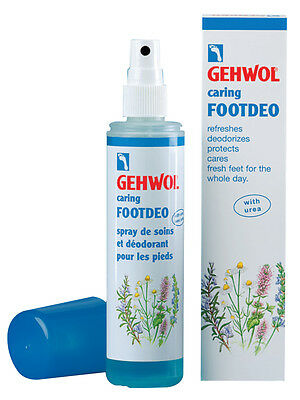 Gehwol Caring FootDeo Foot Deodorant Spray 150ml. Athlete's Foot Odour GEH062