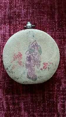 Antique/ Vintage Japanese Coin Purse approx 55mm dia