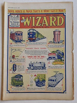 THE WIZARD #1796 - 16th July 1960