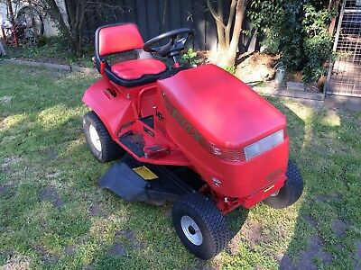 "Cox New Generation Ride On Mower 16.5Hp/32"" Cut Grass Garden House Rider"