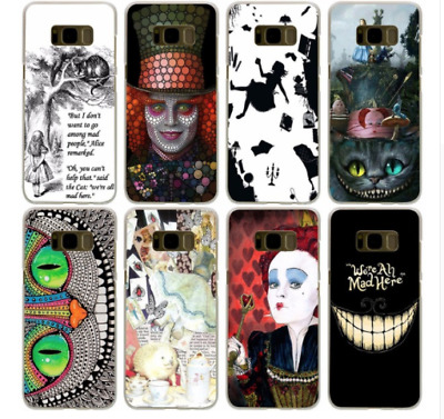 Coque Alice in Wonderland Hard Case All Galaxy S8 S Series J A3 A5 G Note