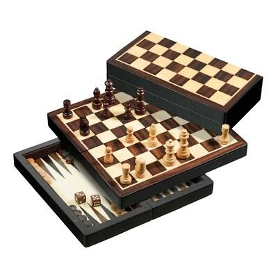 Travel Game - Chess - Backgammon and Womens Set - Magnetic