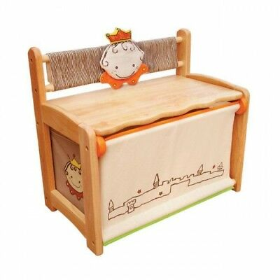 Princess Toy Box and Bench