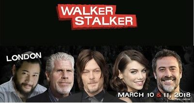 Walker Stalker Con London 10th-11th March 2018 Weekend Admission Ticket