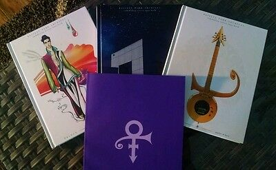 PRINCE PAISLEY PARK Tour Books All 4- 2017 HARDCOVER BOOKs +free pin.New.Sealed.