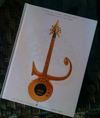 PRINCE GUITAR & BASS - PAISLEY PARK Archives exhibition tour book - New. Sealed.
