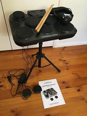 Like New Electronic Drum Kit 7 Pads Livingstone DD305 Midi Controller Briar Hill