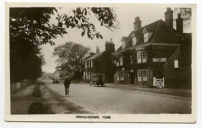 York, Dringhouses real photo posted 1923