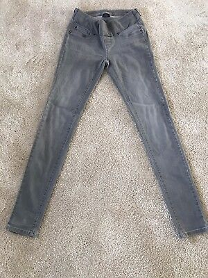 Seraphine Grey Luxe Jeans UK 6
