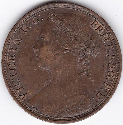 1879 Victoria One Penny**Collectors***AUNC***