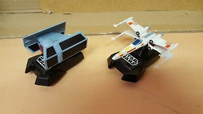 2 X Hornby Micro Scalextric Star Wars Ships Tie Fighter / X Wing