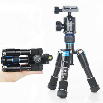 Professional Mini Tripod with Ball Head Gimbal for Cameras Canon Nikon Sony DSLR