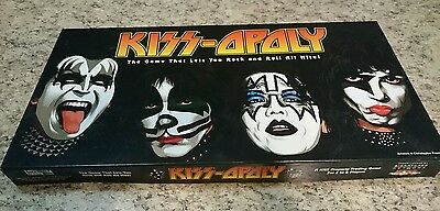 Kiss-opoly 2003 Monopoly  Board Game