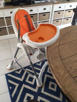 Baby Child High Chair Adjustable Height Feeding