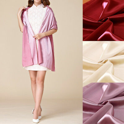 Wedding Shawl Bride Prom Dress Satin Stole Silky Wrap Evening Party Soft Scarf