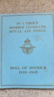 No 1 Group Roll of Honour Lincoln Cathedral 1949