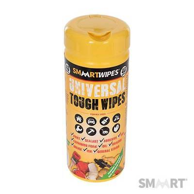 Smaart 354794 Universal Tough Wipes 40 wipes per Tub