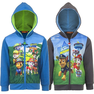 Paw Patrol Kinder Sweatjacke Jacke Jungen Strick  Pullover Marshall Rocky Chase