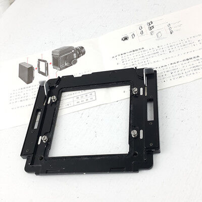 MAMIYA P adapter for RB67 Pro S SD RB 67 FILM CAMERA 6X9 6X7 FILM BACK HOLDER