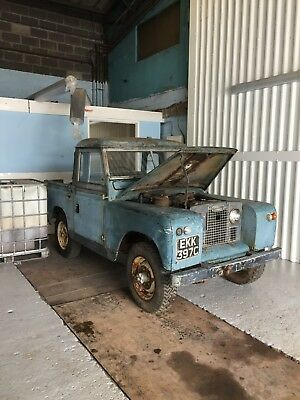 1965 Land Rover - Series 2A - Restoration Project