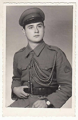 Yugoslavia - Yugoslav Army - Original Photo - Corporal Guard , Akselbender