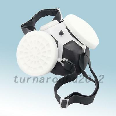 New Anti-Dust Spray Industrial Chemical Gas Respirator Mask Filter Safety Paint