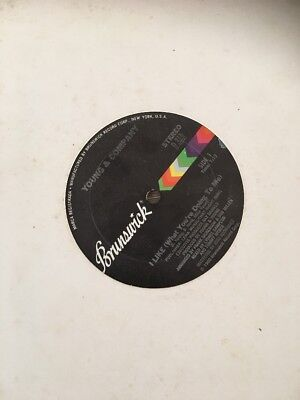"""YOUNG & COMPANY : I like (what you're doing to me) - 1980 US issue 12"""" single"""