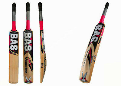 Bas Vampire Club Cricket Leather Bat Craft From English Willow