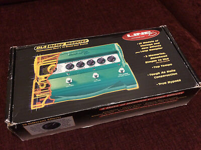 Line 6 DL4 Delay Modeler, Digital Delay DL-4 Stompbox with power supply
