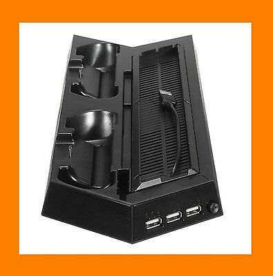 Station d'accueil PS4 : support dock stand Sony Playstation 4 ventilé charge USB