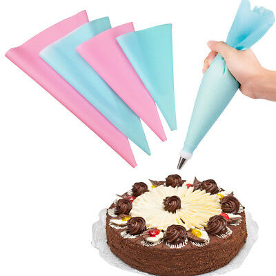 Reusable EVA Silicone Cake Piping Bag Icing Cream Pastry Cookies Decoration Bags