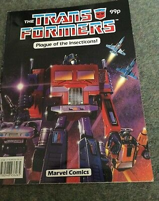 The Transformers Plague of Insecticons Marvel Comics