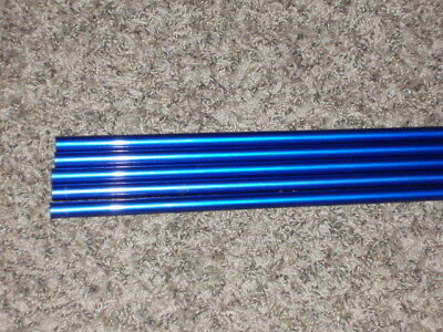 """5 Rod Building Wrapping Blue colored 6'10"""" X-Fast 6-14# 1pc fishing rod blank"""