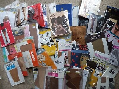 55 pairs of vintage stockings. Original packaging. Unopened. Very good condition
