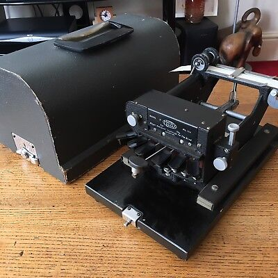 Rare Antique Braille Roll Typewriter National Institute For The Blind Model H