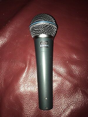 SHURE Beta 58A Microphone Excellent Condition
