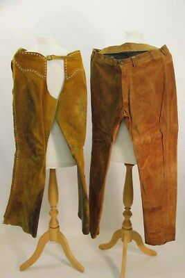 Suede Chaps & Suede Trousers