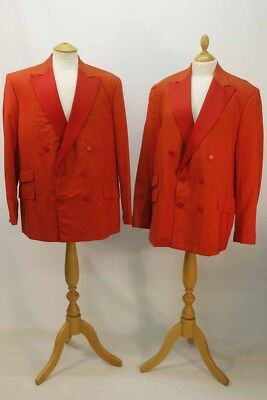 2 x Vintage Red Dinner Jackets