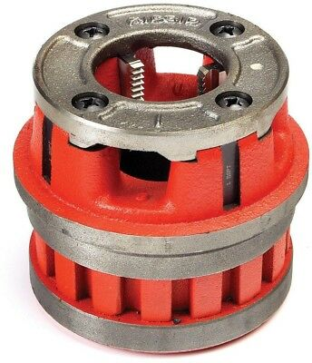 RIDGID 3/4in OOR NPT Die Head Cast Iron Cover Plate Consistent Thread Quality