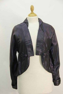 Blue Taffeta Regency Ladies Jacket.