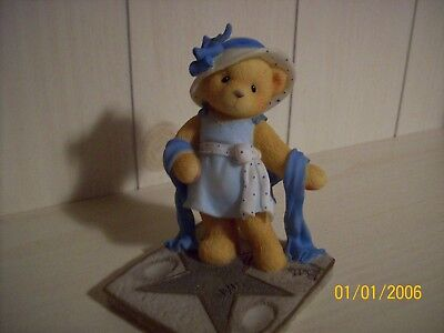 """Cherished Teddies-Bette """"You Are The Star Of The Show"""" 1999 Adoption Center Even"""