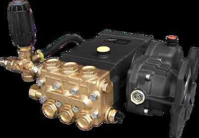 HP4040 Pump with Plumbing and Gear Reducer 4.0 GPM 4000 PSI