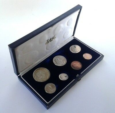 South Africa Proof Coin Set 1966 as Issued by the S A Mint in Original Box #CIM
